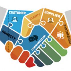 ERP در مديريت ارتباطات با مشتريان و تامين كنندگان